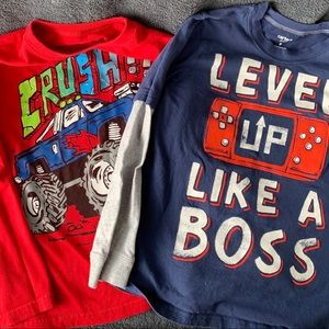 Boys T-shirt's Longsleeves Bundle